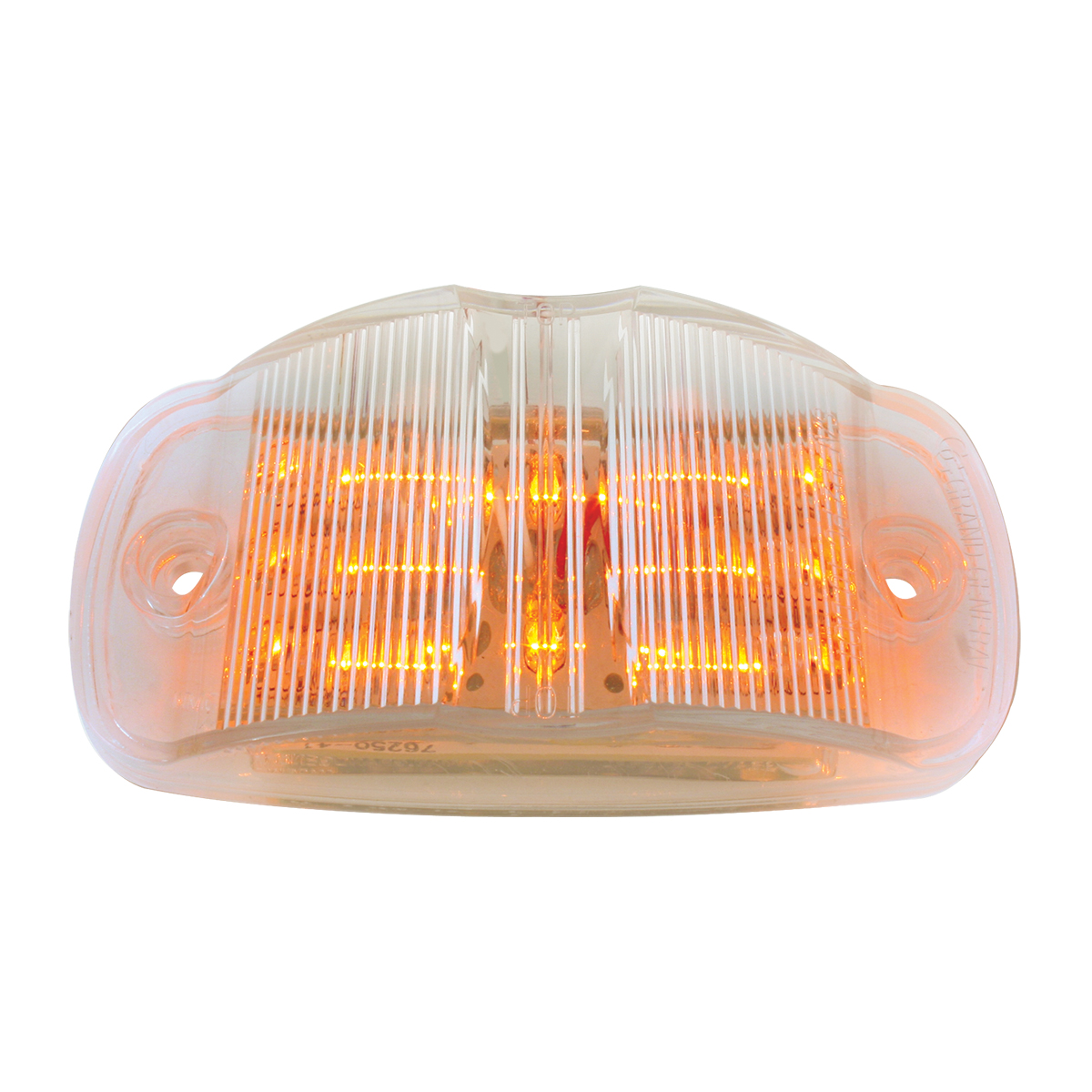 75161 Rectangular Camel Back Wide Angle Dual Function LED Light
