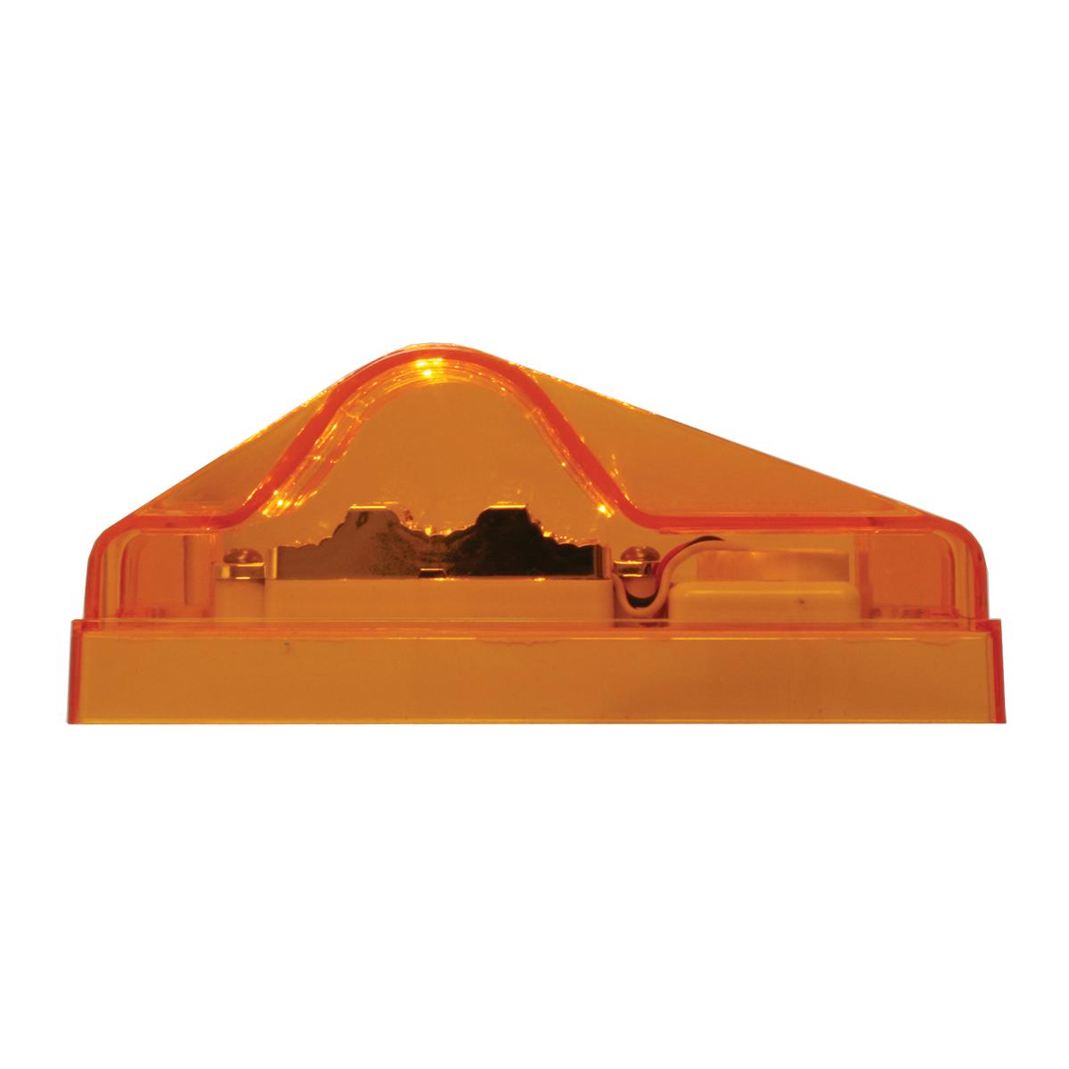 Rectangular Side Mount Spyder LED Turn/Marker Light In Amber Lens
