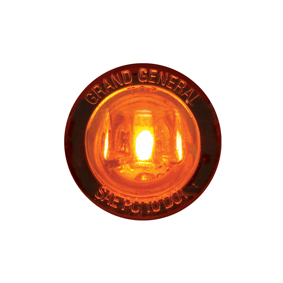 """75210 1-1/4"""" Dia. Dual Function LED Light with Nut"""