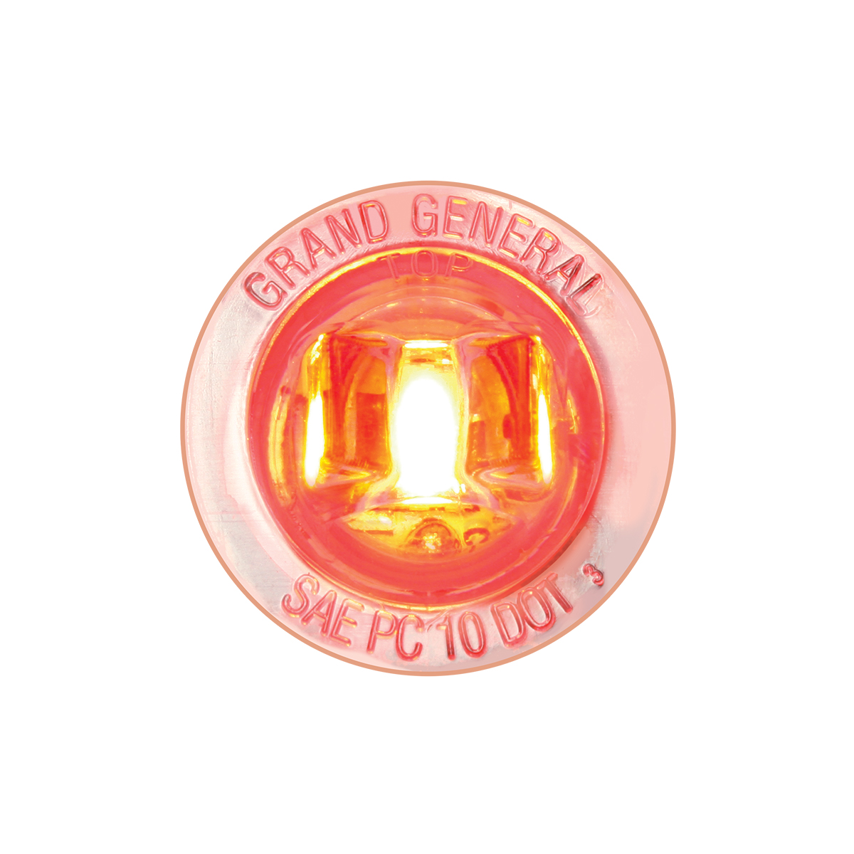 """75213 1-1/4"""" Dia. Dual Function LED Light with Nut"""