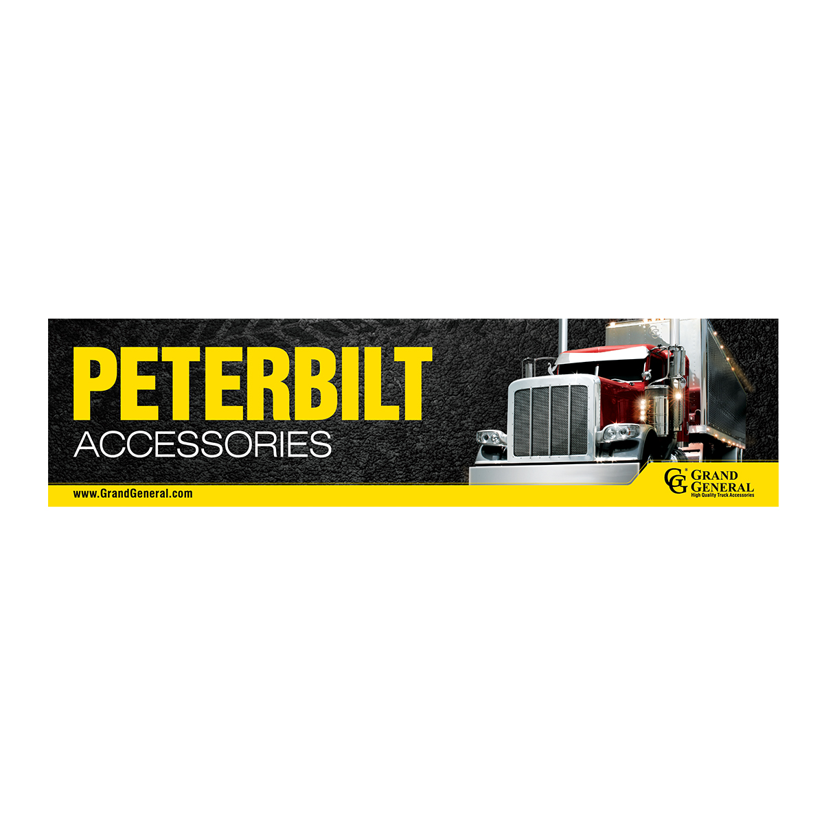 General Auto Parts >> Peterbilt Display Sign Grand General Auto Parts