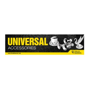 Universal Accessories Display Sign