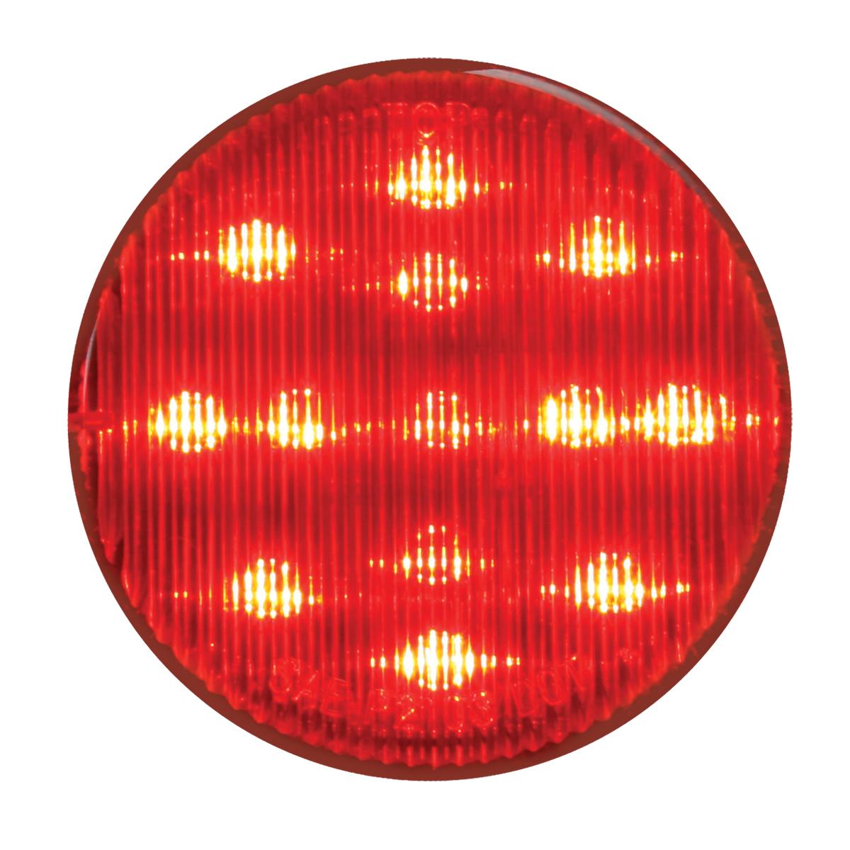 """75121 24V 2-1/2"""" Round Fleet Marker Light"""