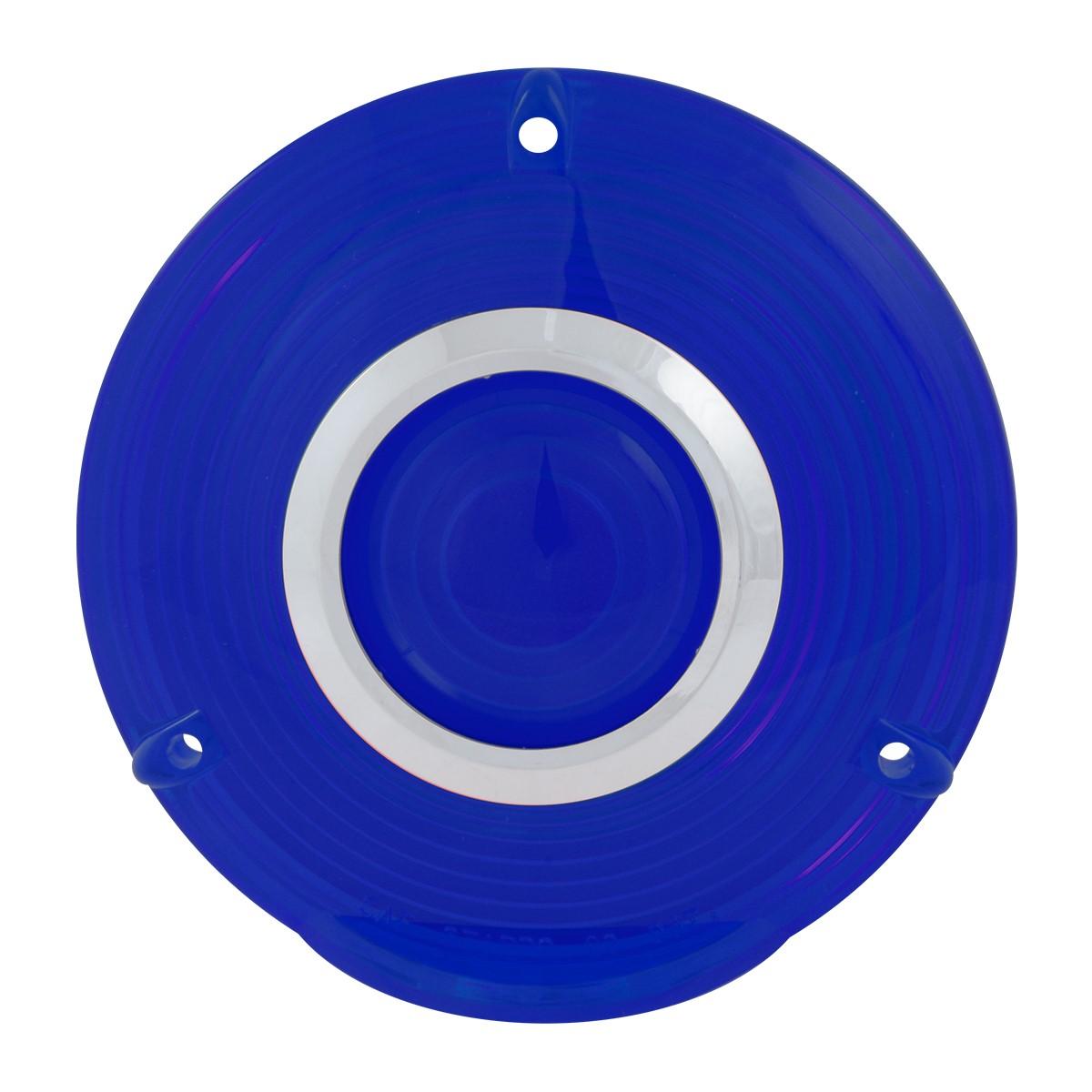 Grand General 86721 Blue Plastic Lens w/ Chrome Rim