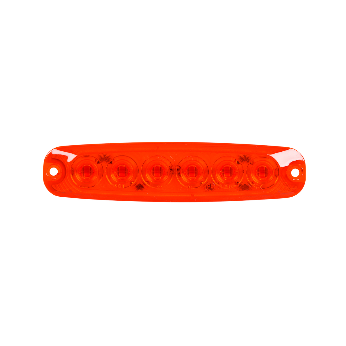 "5 ⅛"" Ultra Thin LED Light - Red/Red"