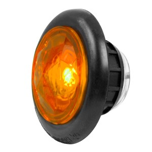 1″ Dia. Dual Function Diamond Lens LED Light with Rubber Grommet
