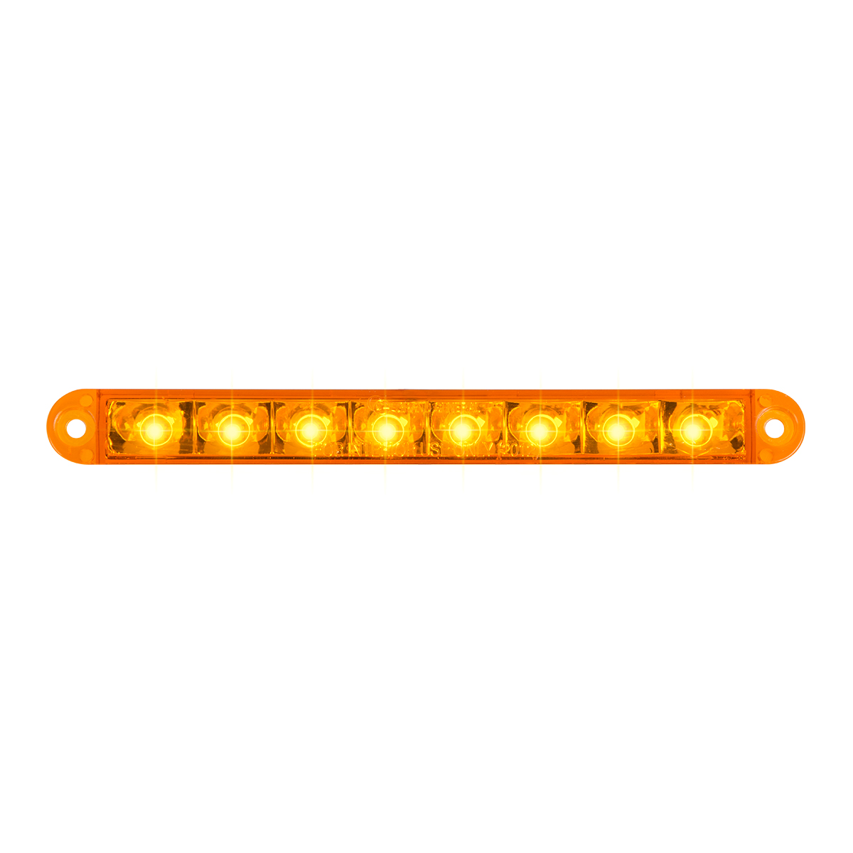 "74760 6.5"" Flush Mount Pearl Marker & Turn LED Light Bar"