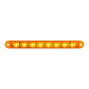 6.5″ Flush Mount Pearl Marker & Turn LED Light Bar