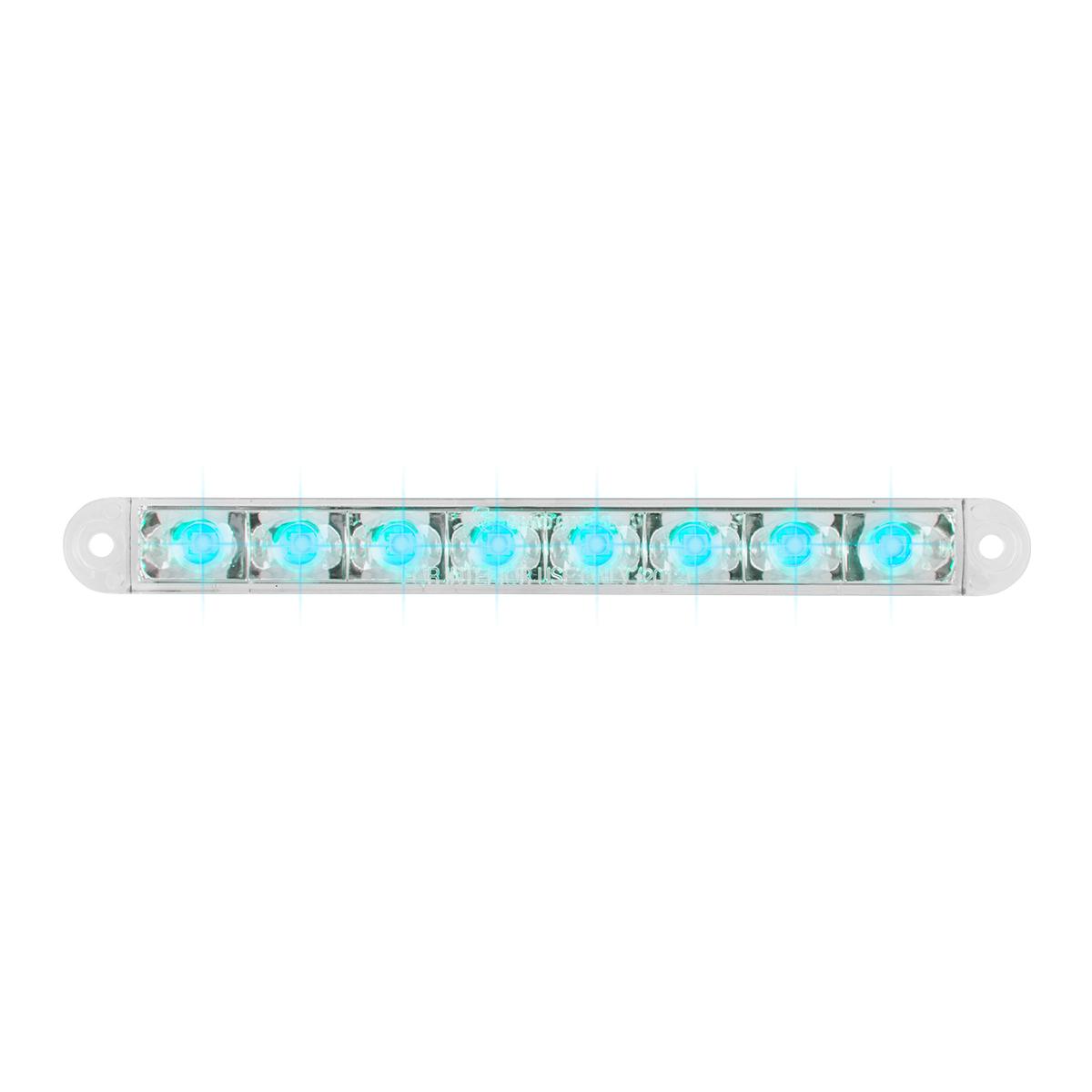 """74766 6.5"""" Flush Mount Pearl Marker & Turn LED Light Bar"""