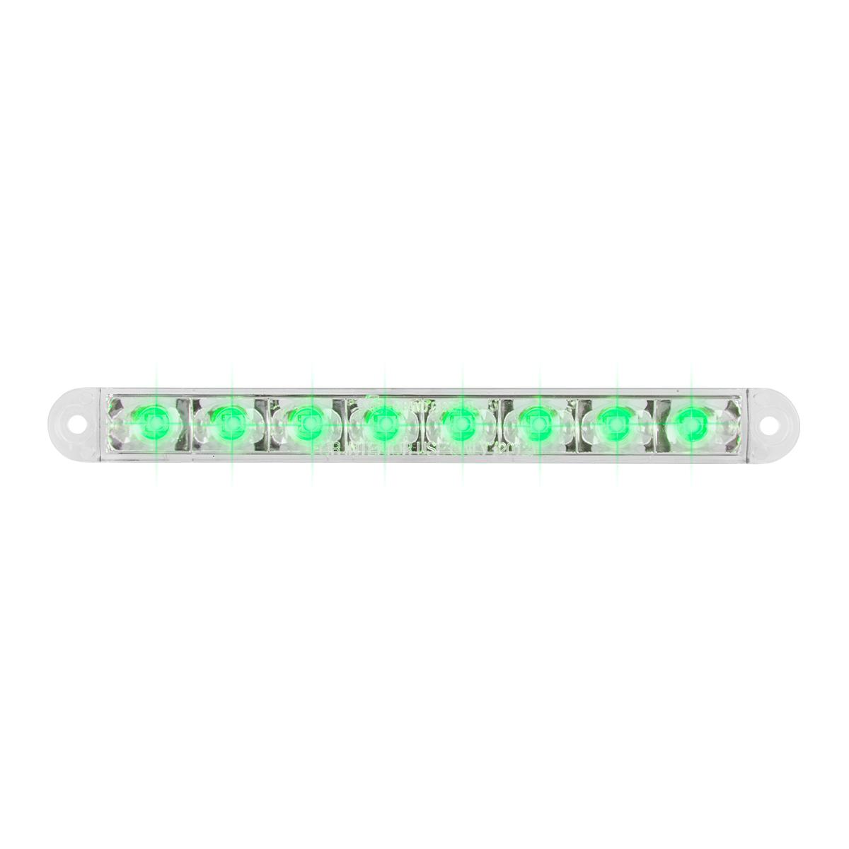"""74768 6.5"""" Flush Mount Pearl Marker & Turn LED Light Bar"""