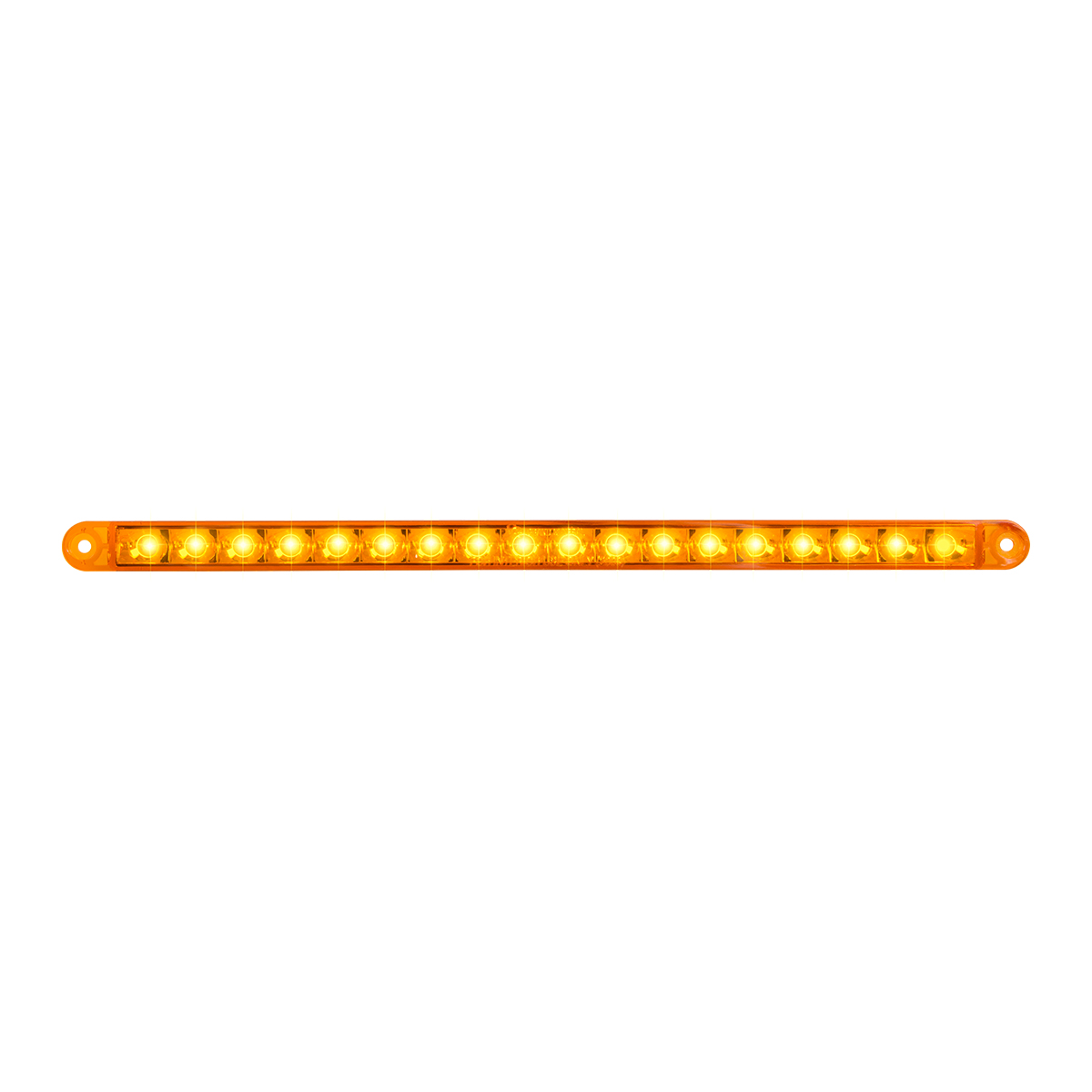 "74780 2"" Flush Mount Pearl Marker & Turn LED Light Bar"