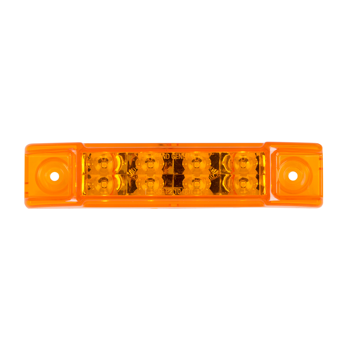 "75185 6"" Rectangular Surface Mount Pearl Marker & Turn LED Light"