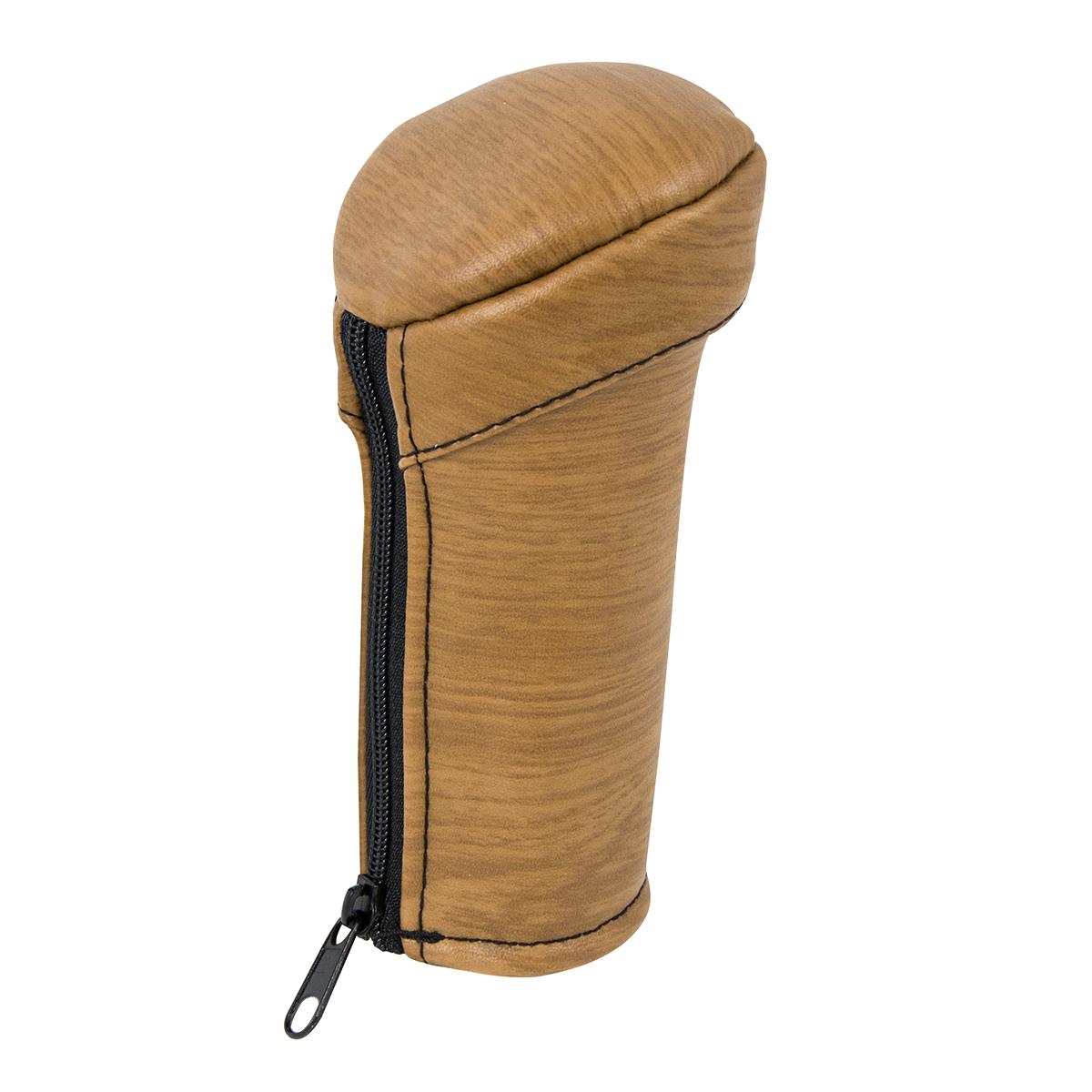 99866 Matte Natural Light Wood Gear Shift Knob Cover