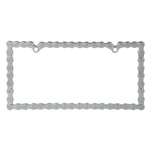 Bike Chain License Plate Frame
