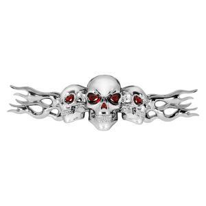 Skulls Stick-On Emblem