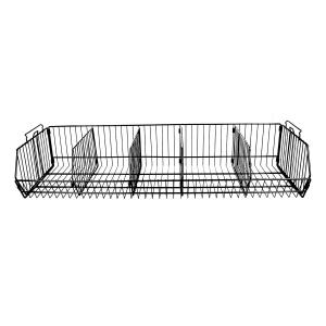 Stackable Black Wire Basket