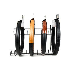 Black Steering Wheel Cover Rack