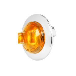 3/4″Dia. Mini Wide Angle LED Dual Function Sealed Light with Chrome Plastic Bezel