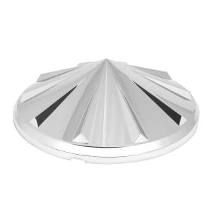 Spoke Chrome ABS Front Axle Hub Cap Cover Only