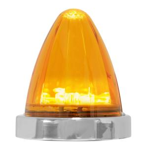 81978 Watermelon Style Surface Mount LED Turn/Marker Light in Amber/Amber