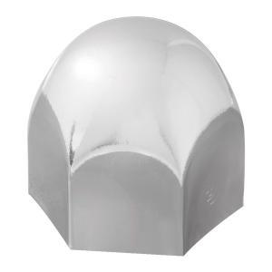 Standard Chrome Steel Push-On Lug Nut Cover