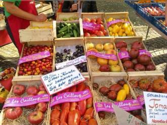 Sortenvielfalt der Tomaten