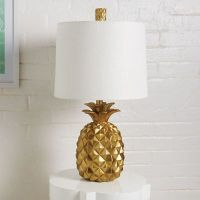 Pineapple Table Lamp | Grandin Road