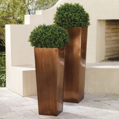 cynthia rowley chairs for sale outdoor rocking target column planter | grandin road