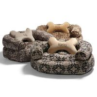 Valencia Dog Bed with Free Bone Pillow | Grandin Road