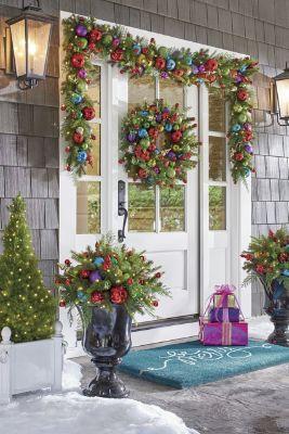 Christmas Front Door Decoration