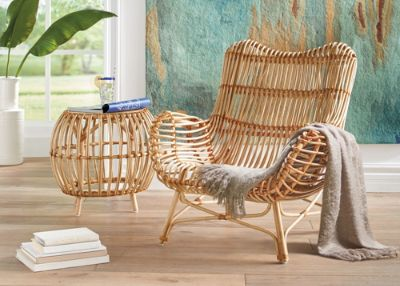 Indoor Rattan Furniture Natural Art Form - Grandin Road