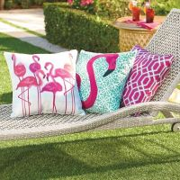 Pretty in Pink Outdoor Pillow Collection | Grandin Road
