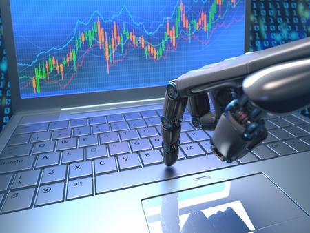 Les robots de trading prennent le pouvoir !