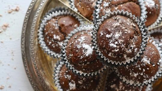 Le goûter maison du mercredi: Les muffins au chocolat et à la courgette