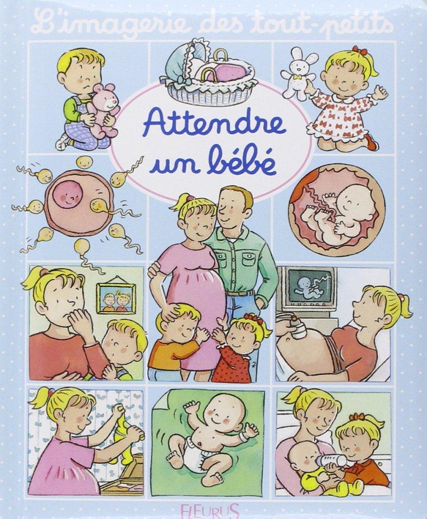 Les livres pour préparer l'aîné à l'arrivée d'un bébé : l'imagerie des tout-petits - attendre un bébé.