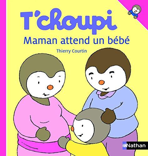 Les livres pour préparer l'aîné à l'arrivée d'un bébé: t'choupi - maman attend un bébé.