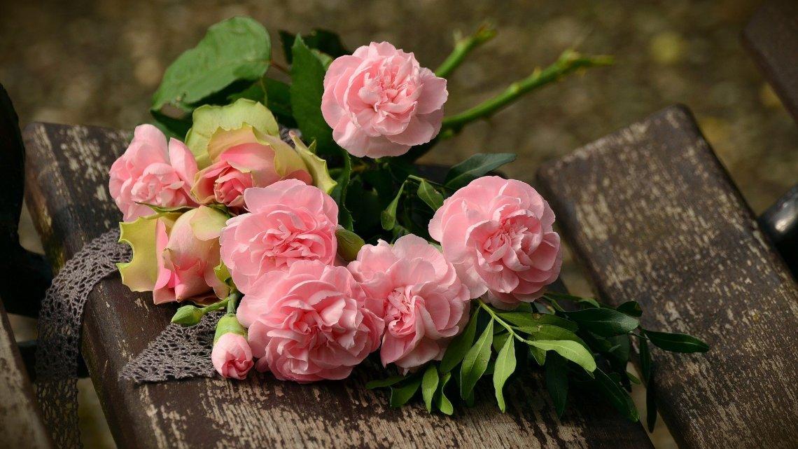 Changer le monde avec des bouquets de fleurs