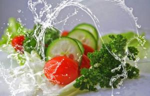 Une bonne salade de légumes