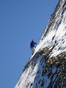 Promeneur en montagne