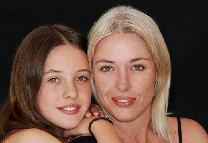 Une femme et sa fille