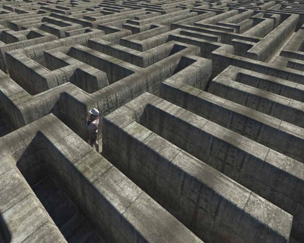 Sortir du labyrinthe