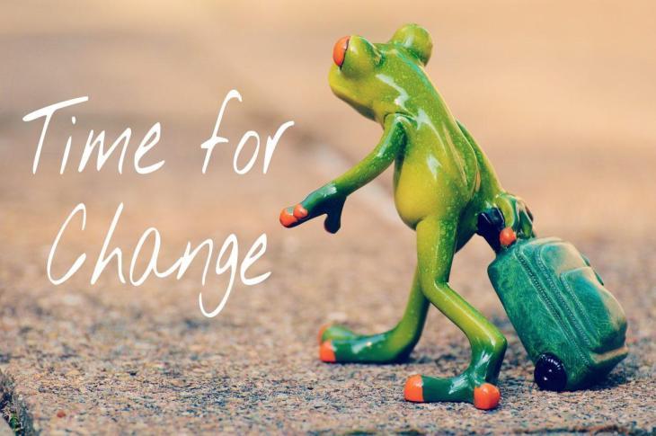 Le temps du changement