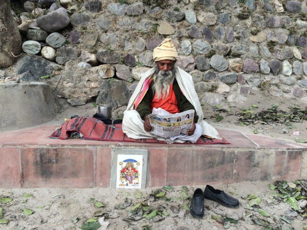 Un chaman indien
