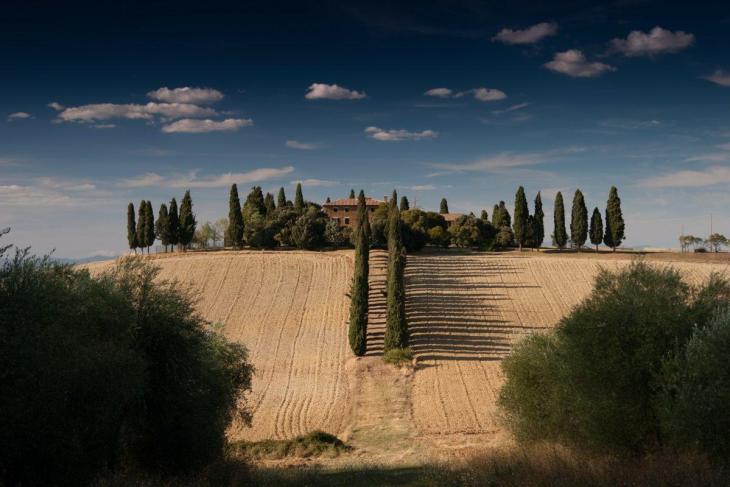 Une villa de campagne