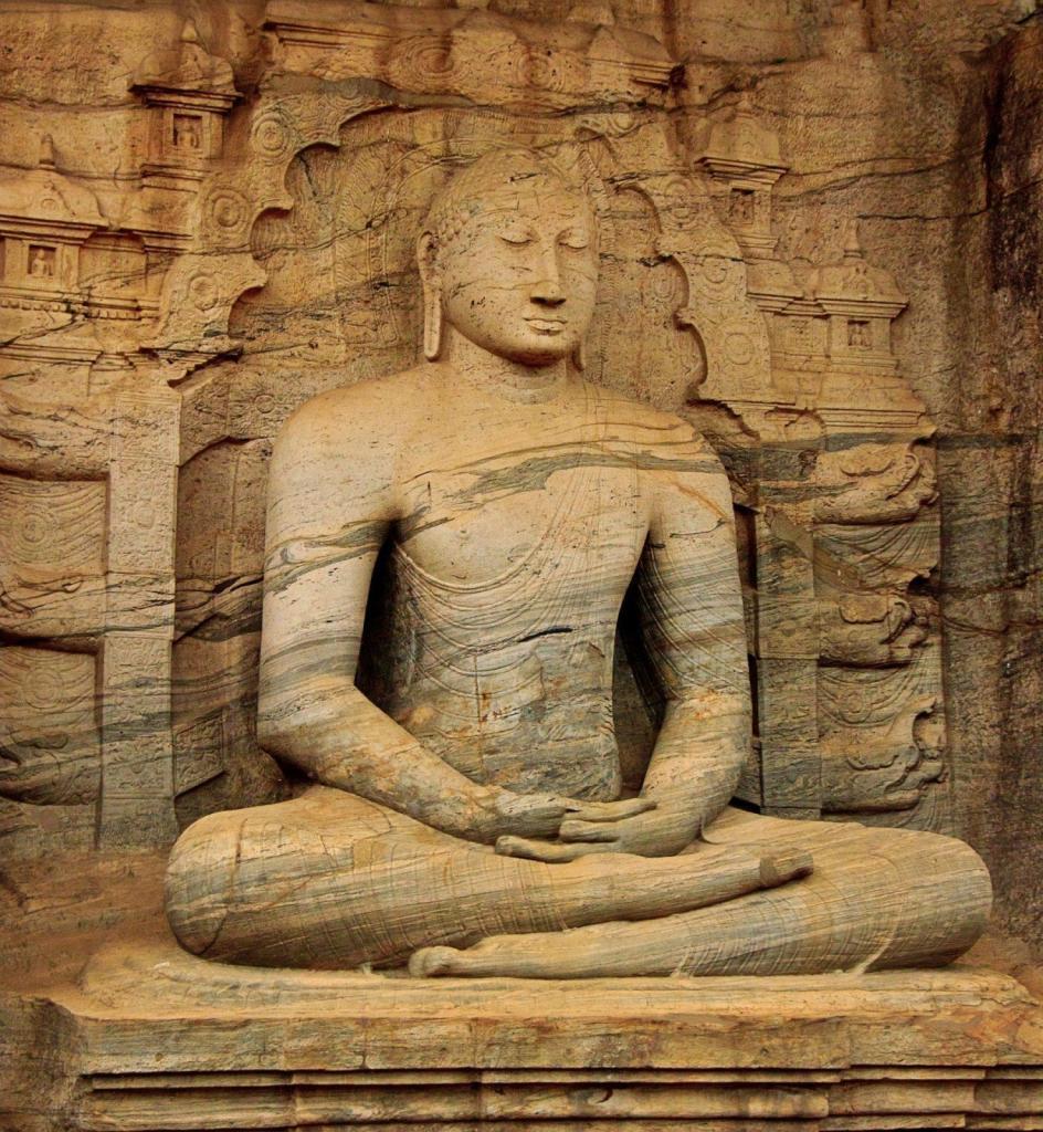 Un Bouddha du Sri Lanka