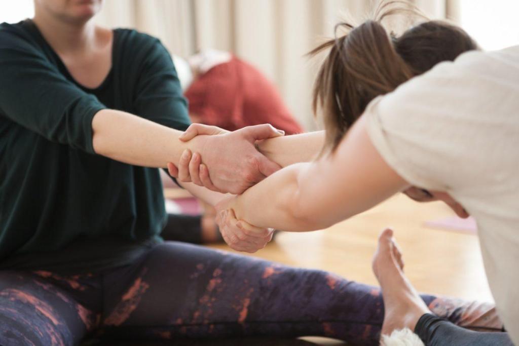 Deux personnes pratiquant le tantrisme