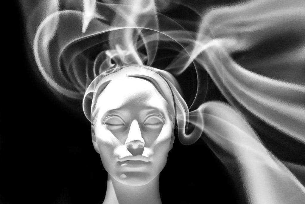 La face inconsciente d'une personne