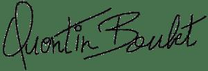 Signature Quentin Boulet