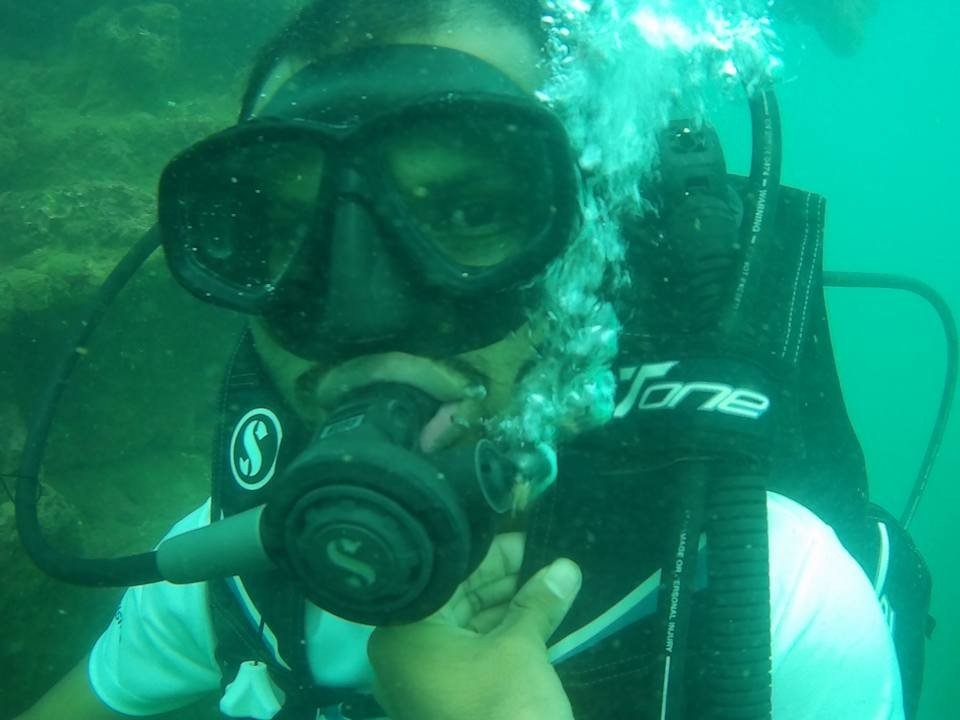 Scuba Diving at Grand Island Goa