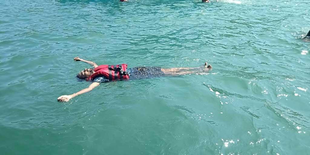 Snorkeling at Bat Island, Goa